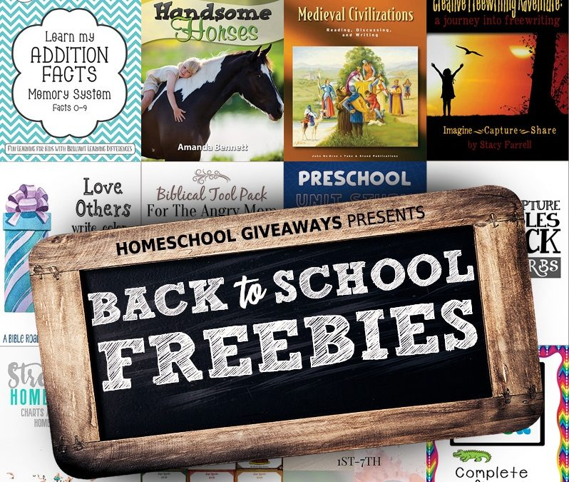 Valuable List of Homeschool Freebies!