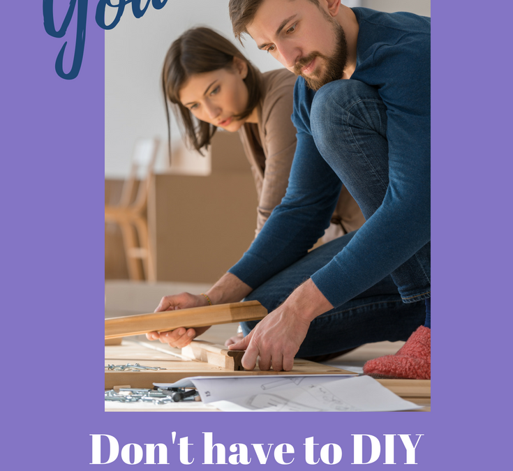 Just because you are a homeschooler doesn't mean you have to DIY everything