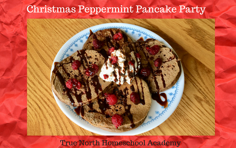 Christmas Peppermint Pancake Party