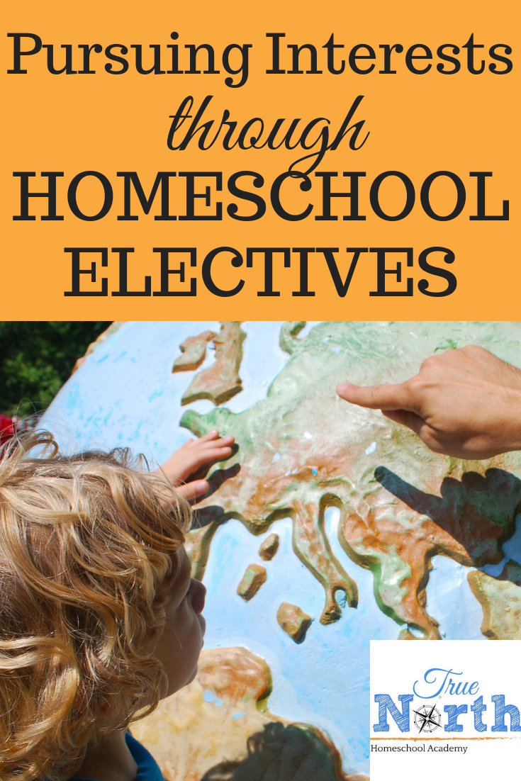 Do you believe in pursuing interests using homeschool electives? See some great ideas on how to combine interest led learning with your homeschool elective choices. #homeschooling #electives #interestledlearning