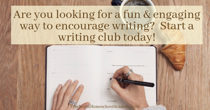 Have you ever wanted to start a writing club?  Check out True North's easy steps for forming, and leading, a fun and engaging writing club.