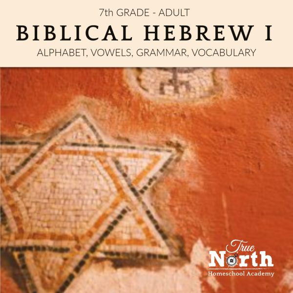 This course introduces the student to the basics of Biblical Hebrew.  We will learn how to read the Hebrew letters and vowels, and proceed from there to Biblical Hebrew grammar and vocabulary, and passages from the Hebrew Bible.