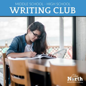Homeschool writing club for ages 12 and up