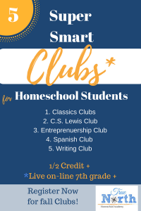 Super Smart Clubs Homeschool Students
