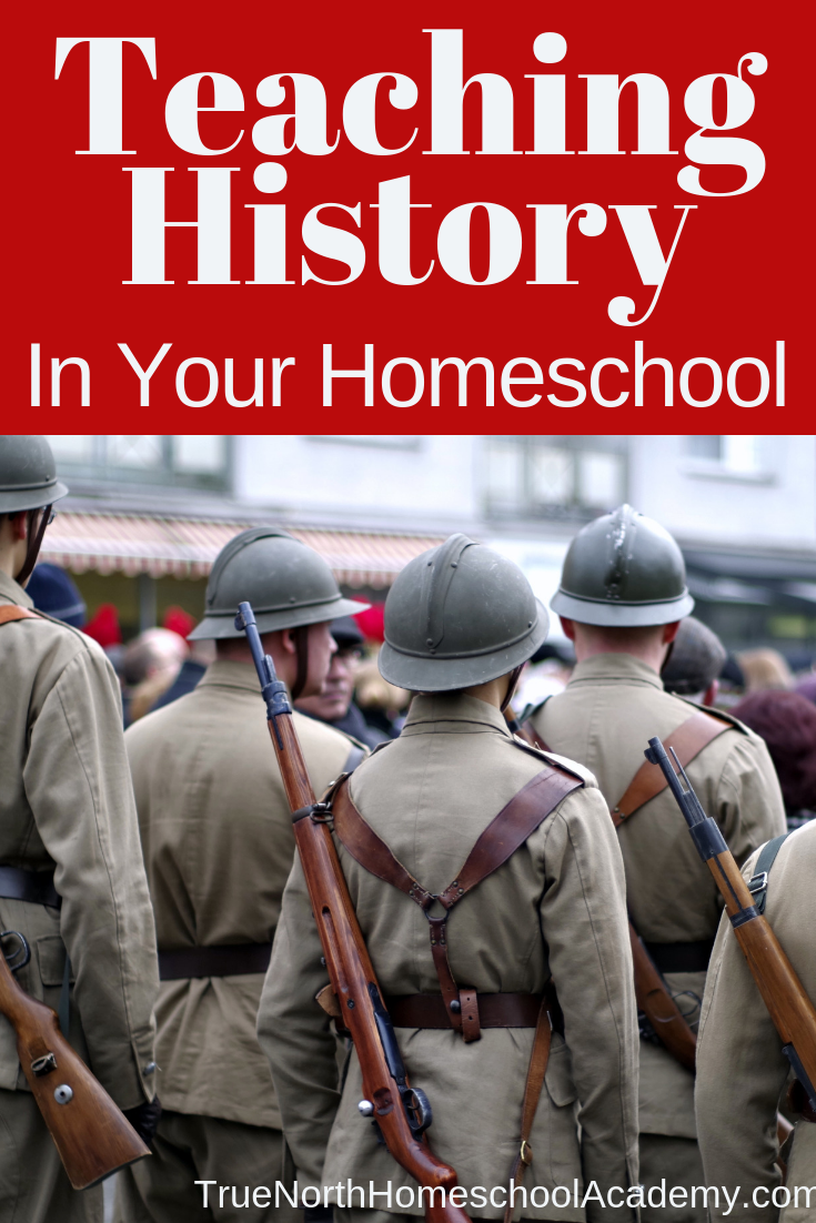 Do you struggle with teaching history in your homeschool? Check out these great tips from a homeschool veteran. Turn history time around in your homeschool! #homeschooling #homeschool #homeschoolhistory #TrueNorthHomeschoolAcademy #teachinghistory #handsonlearning
