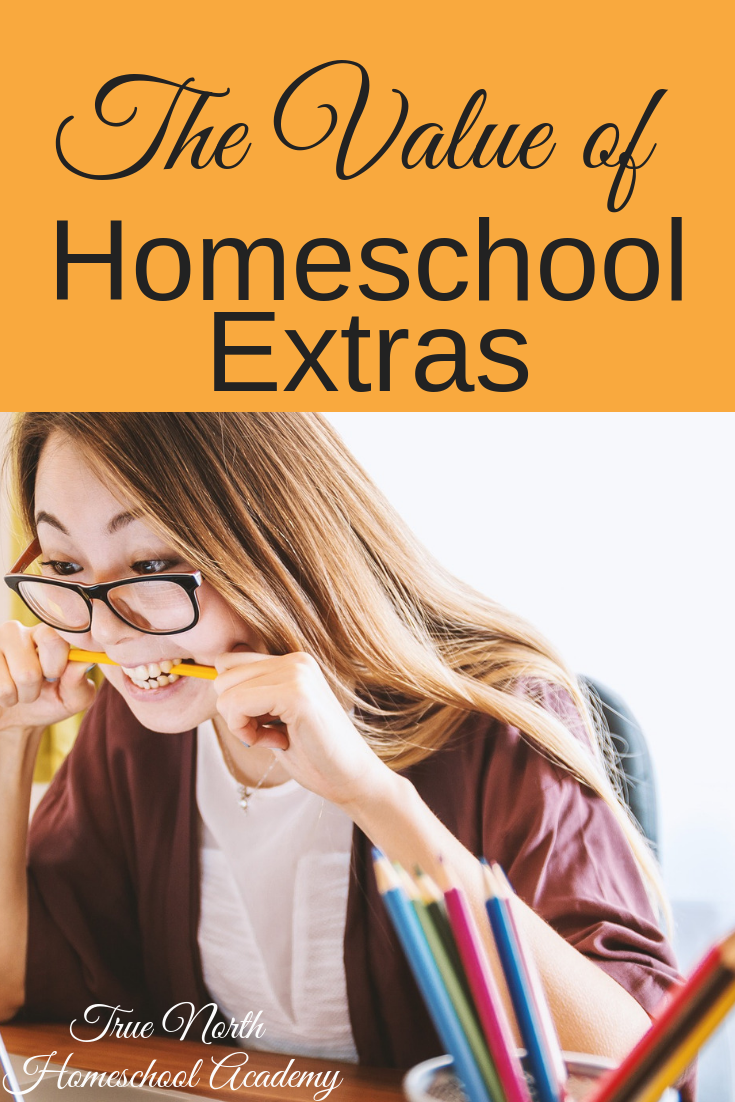 Do you see the value of the extras in your homeschool? Check out why I think the homeschool extras can take your day from boring to extraordinary! #homeschool #homeschooling #electives