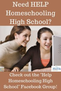 Do you need help homeschooling through those difficult high school years? Find help in the Help Homeschooling High School group today. #homeschooling #highschool #TrueNorthHomeschoolAcademy