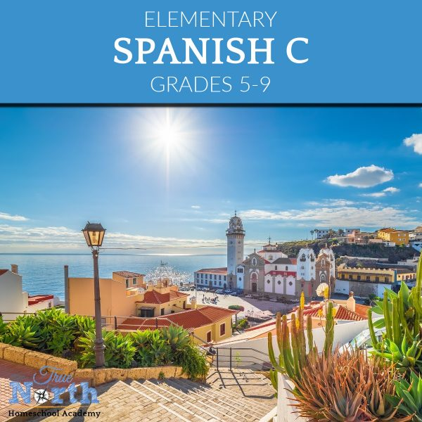 TNHA Product Image Spanish C online Class for Grades 5-9
