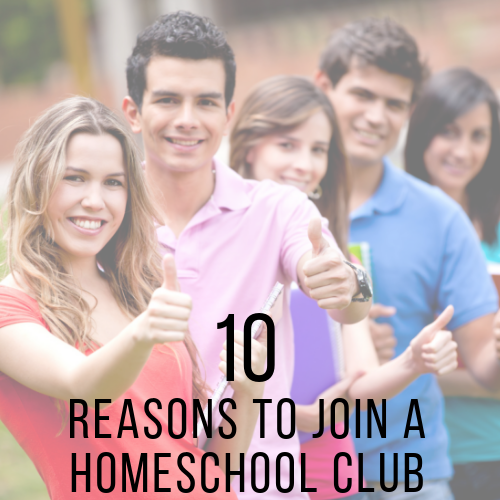 10 Reasons to Join a Homeschool Club!
