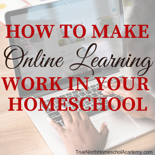 How to Make Online Learning Work in Your Homeschool