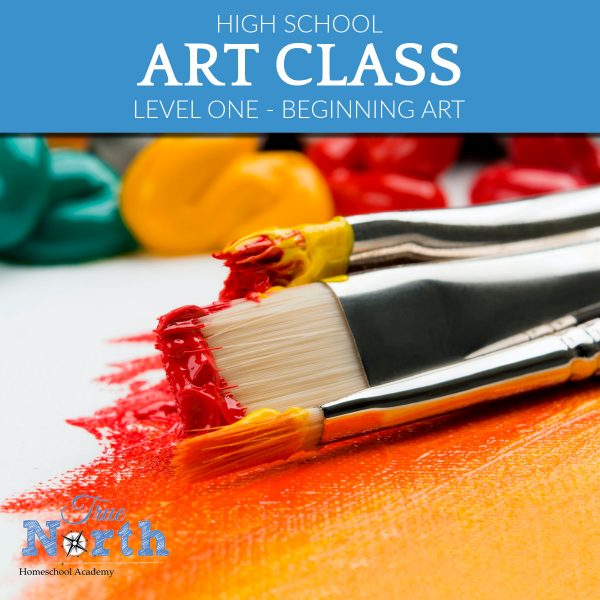 TNHA Product Image Art Level 1 High school online homeschool classes