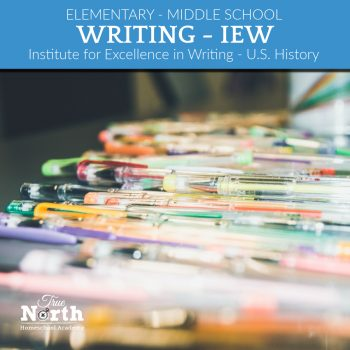 Institute for Excellence in Writing's U.S. History