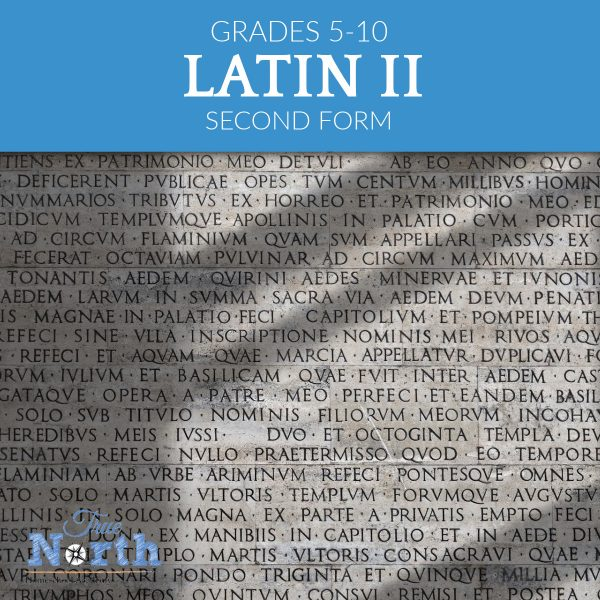 Latin Two Online Class for Grades 5-10