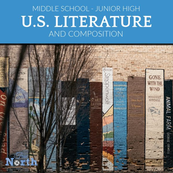 TNHA Product Image US Literature and compostition for Junior high online class