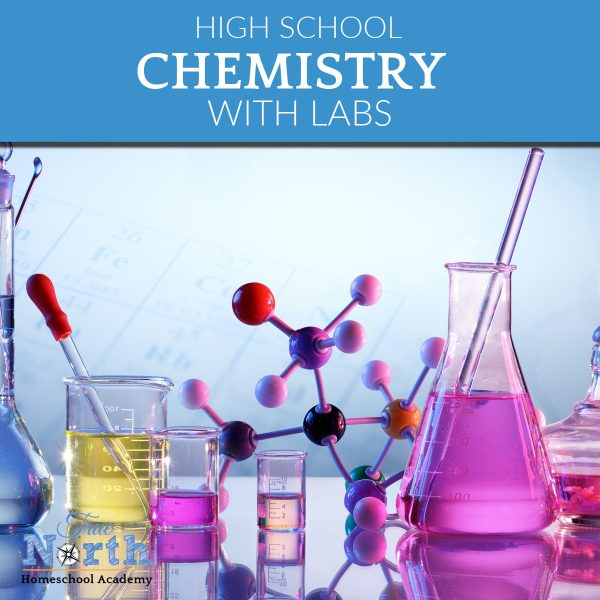 Chemistry online classes with True North Homeschool Academy and Dr Moon