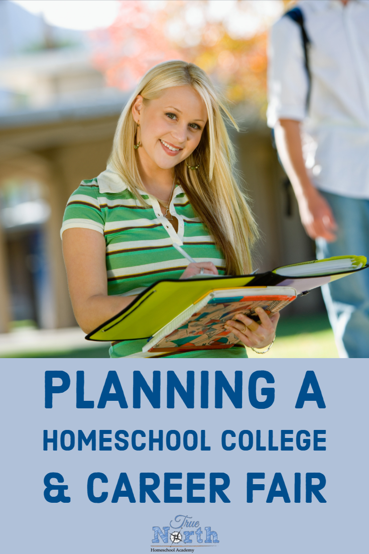 Do you have a homeschool student that is looking at college and career options? Maybe it's time to plan a homeschool college and career fair! When your child enters those tricky high school years it's more important than ever to explore the options for beyond high school. Check out these tips to plan a successful event for your homeschool community. #TNHA #homeschoolcollegeprep #careerfair
