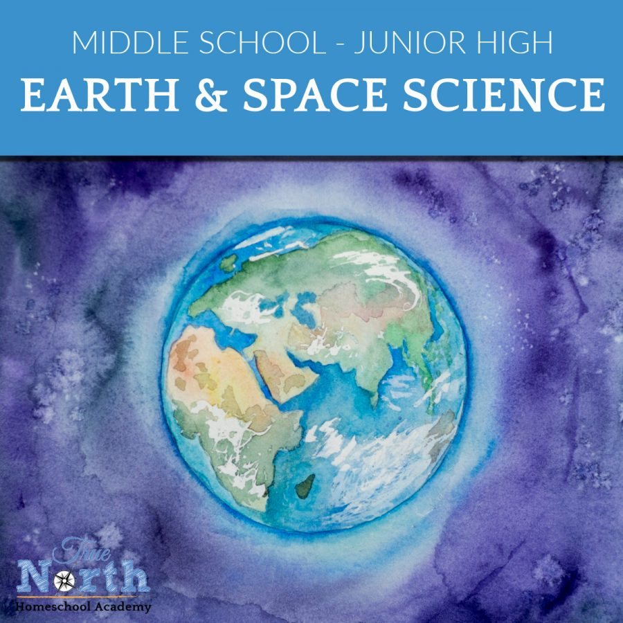 TNHA Earth and Space Science online class with True North Homeschool Academy