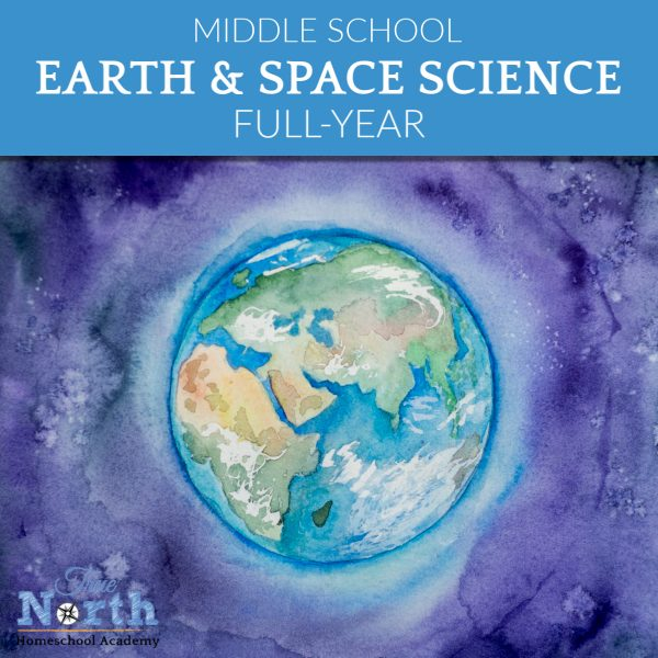 Earth and SPace Science Live online class ofr middle school