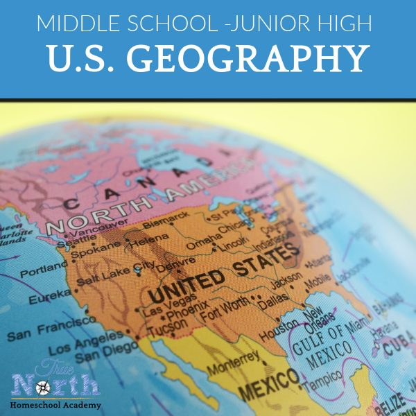 TNHA Product Image US Geography full year course junior high students online