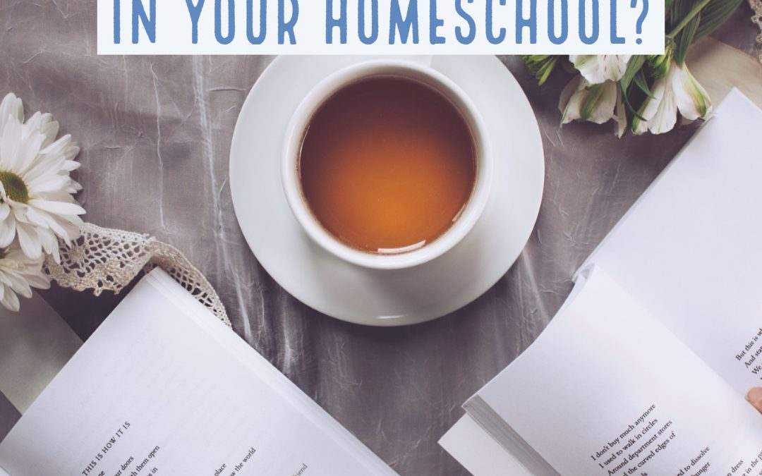 Do you need poetry in your homeschool?