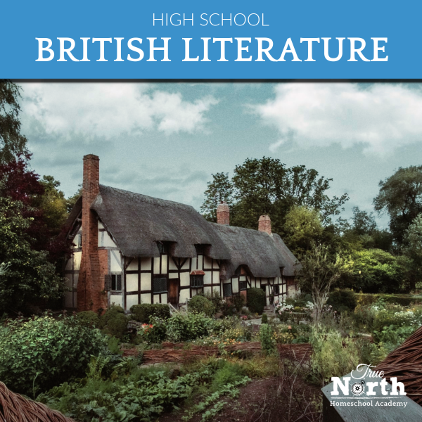 Online British Literature class for high school at home