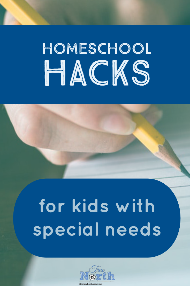 Are you looking for homeschool hacks for kids with special needs?  Then you are in the right place.  Check out our struggling learner tips today! #TNHA #HomeschoolHacks #StrugglingLearners