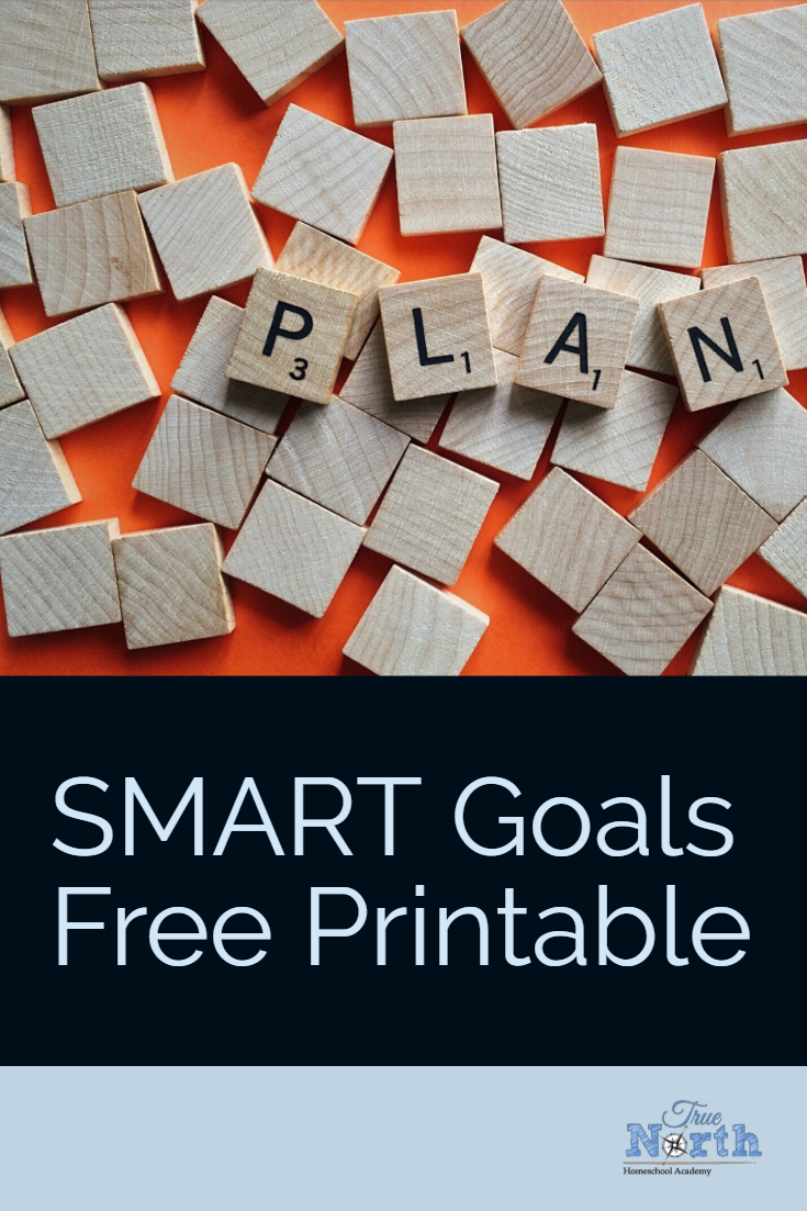 Are you interested in setting SMART goals for your homeschool student, but don't really know where to start?  Check out this FREE printable that will guide you in setting SMART goals for your homeschool.  Grab this one today! #homeschool #SMARTgoals #TNHA #homeschooler