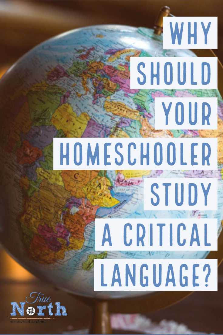 Are you overwhelmed with choosing a foreign language study for your student? Let us simplify it today! Check out some great reasons why your homeschooler should study a critical language. #TNHA #criticallanguage #foreignlanguage