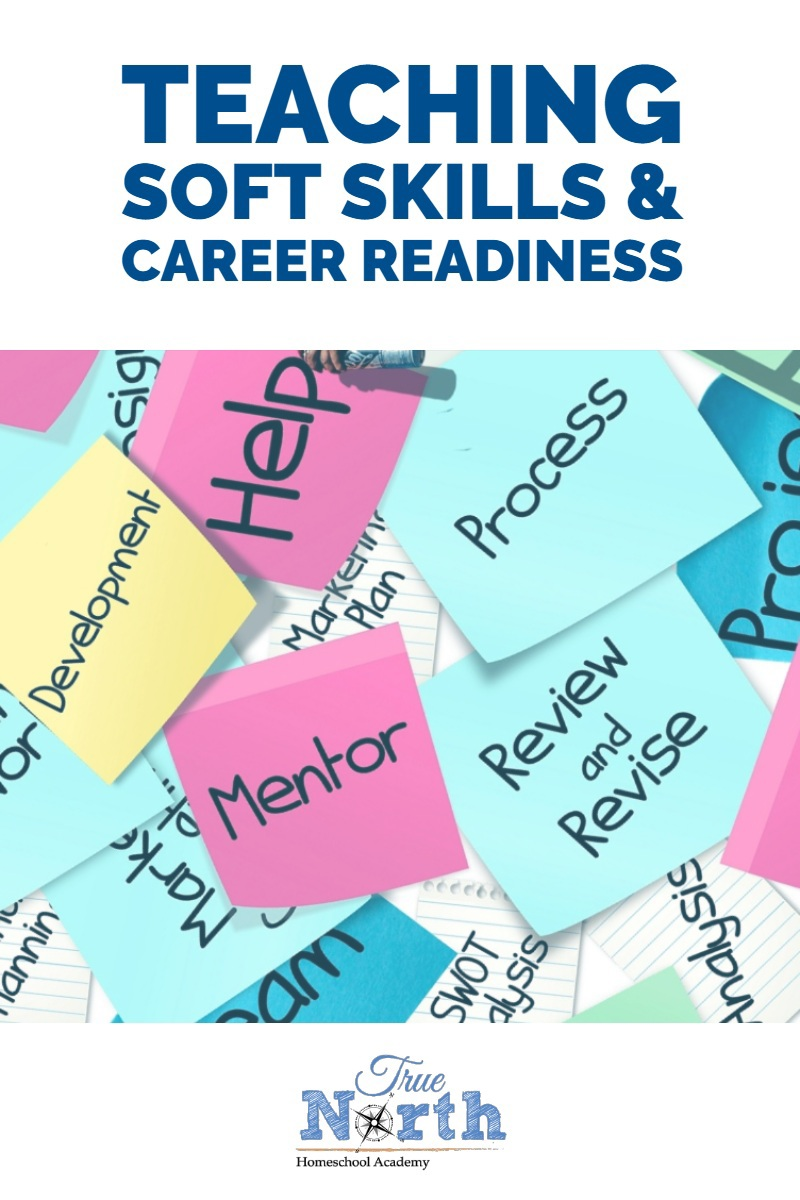 Are you teaching soft skills and career readiness in your homeschool? These skills can often be overlooked but are vital to success in today's job market. Check out the reasons why your student needs soft skills as well as some great tips on how to work them into your homeschool year. #TNHA #softskills #careers #homeschool