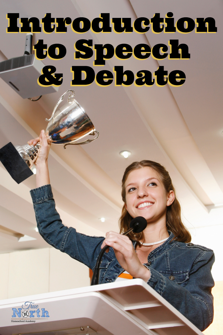 Public speaking is an often overlooked area of child's education.  However, think about all the times it could be required in your child's life.  Will they be ready?  If not, maybe it's time for a speech and debate class.  Check out this great posts on the benefits of speech and debate.  #homeschooling #speechanddebate #homeschoolcourses