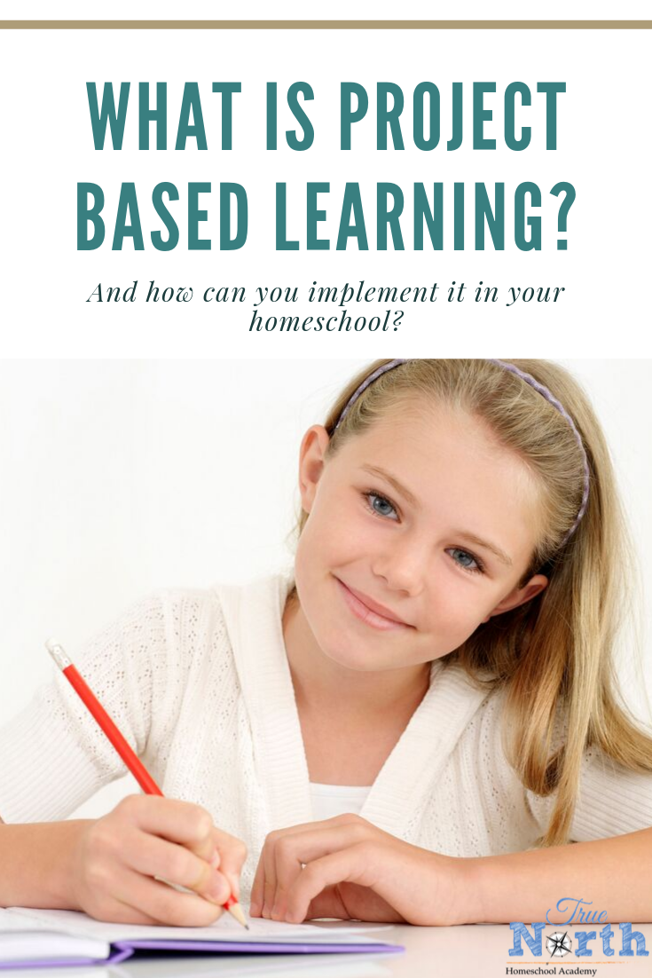 Is your student tired of boring worksheets? Maybe it's time to try project based learning. Check out this post to learn what project based learning is and how you can make it work for your student. #homeschooling #truenorthhomeschoolacademy #projectbasedlearning