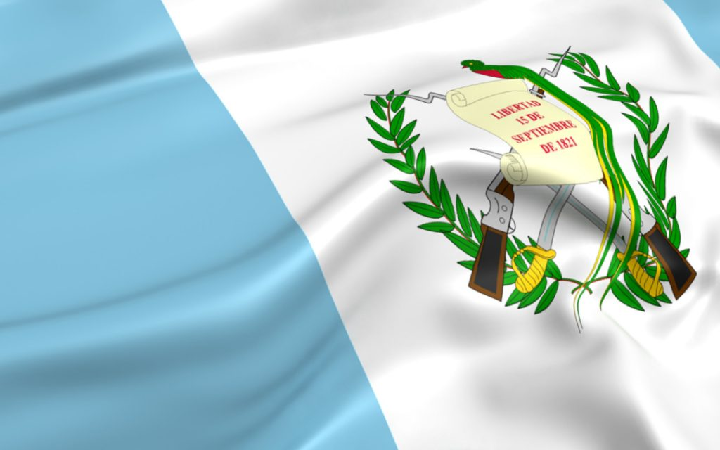 Flag of Guatamala