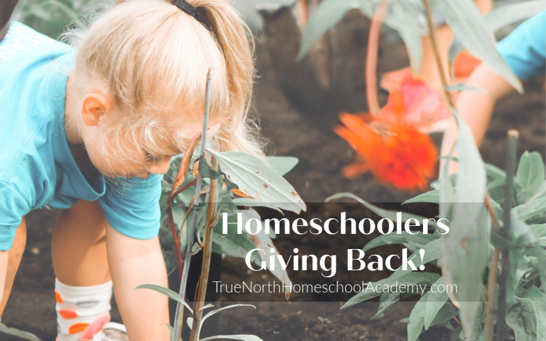 Homeschoolers Giving Back