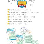 Review and Image of Right Start Math Fractions on True North Homeschool Academy