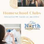 Online Homeschool Writing Club from True North Homeschool Academy depicted