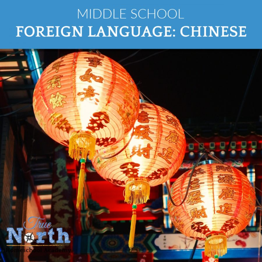 Middle School Level Foreign Language Courses - Chinese