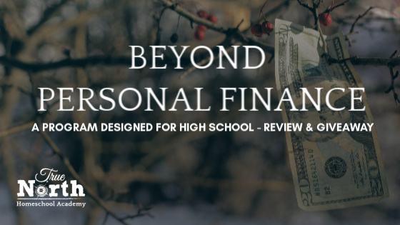 Beyond Personal Finance -Curriculum Review & Give Away