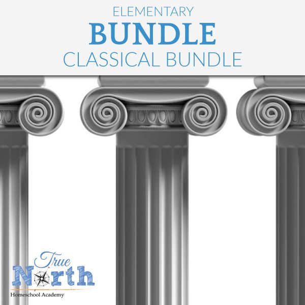 TNHA Elementary Classical Bundle of Updated for 2021-2022 school year