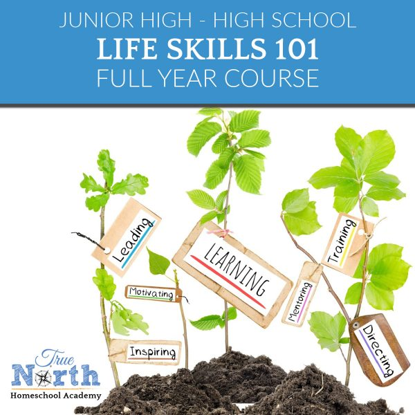 TNHA Life Skills 101 online high school and junior high class