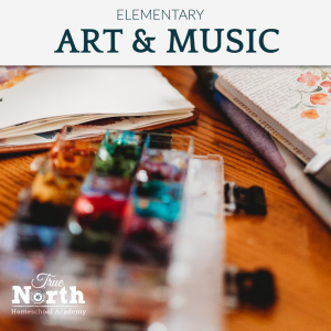 Online live classes teacher for elementary students of True North - art and music appreciation