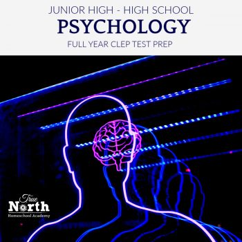 Online live class in Psychology for Junior High, and high school students of True North Homeschool Academy