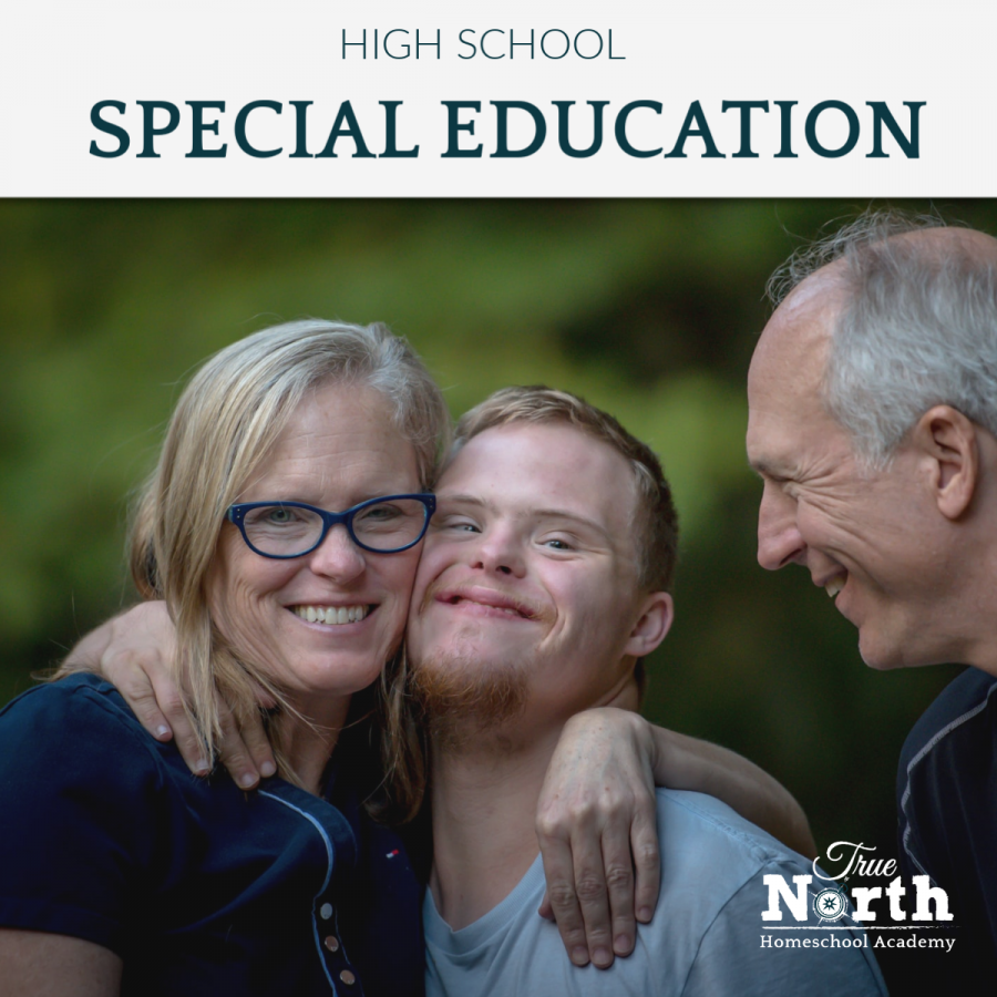 Online live classes for high school students of True North Homeschool Academy - special education classes
