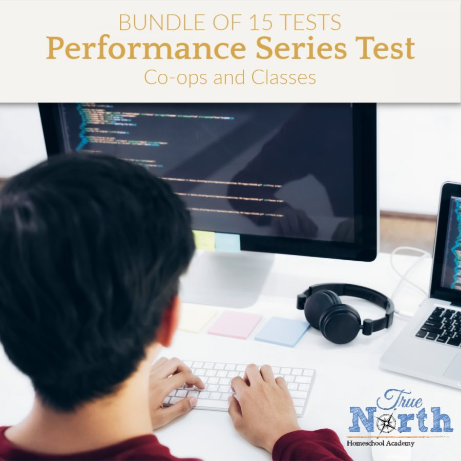 Testing performance series bundle of 15 tests for co-ops and homeschool classes