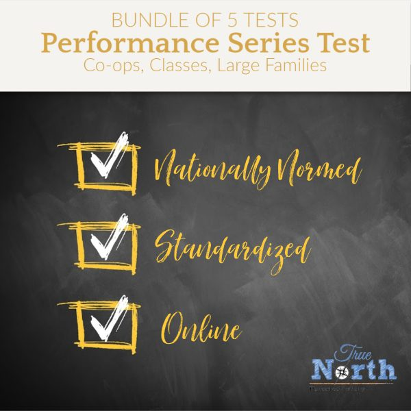Testing performance series bundle of five tests