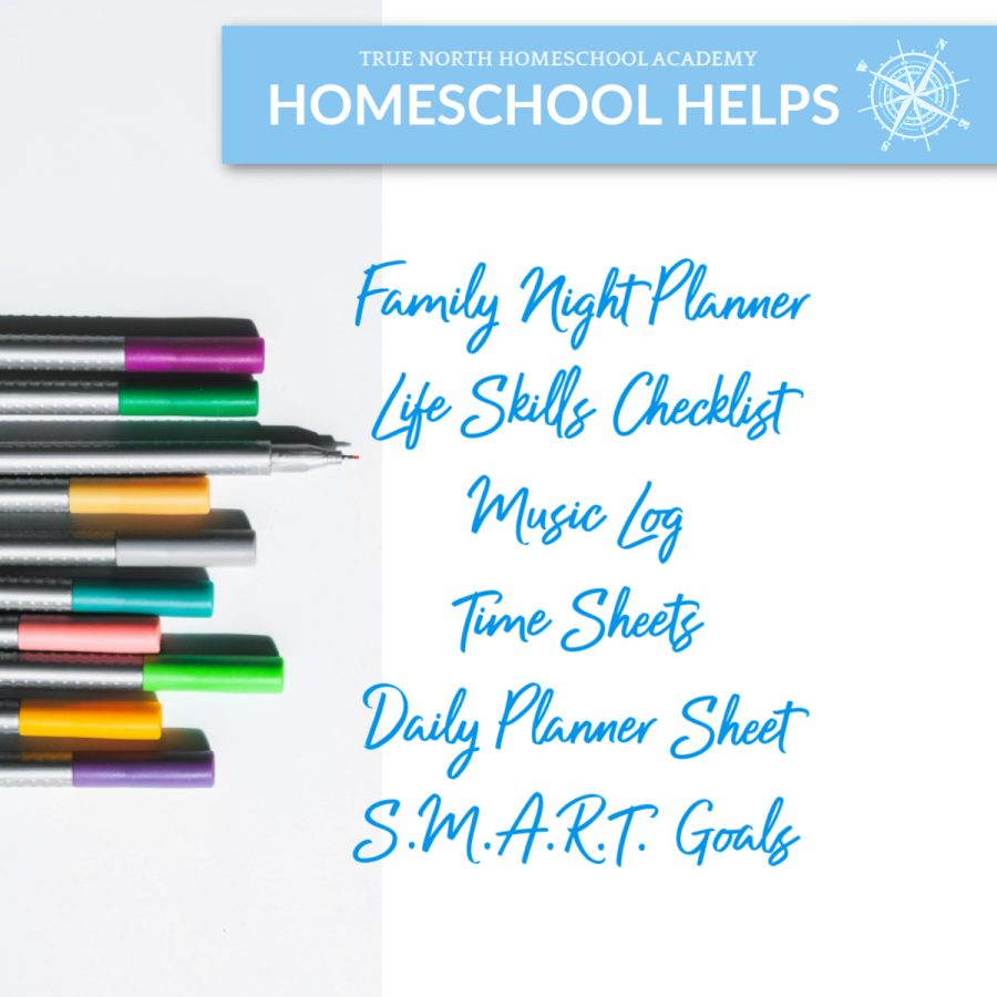 Free Homeschool Planner Printable Pack
