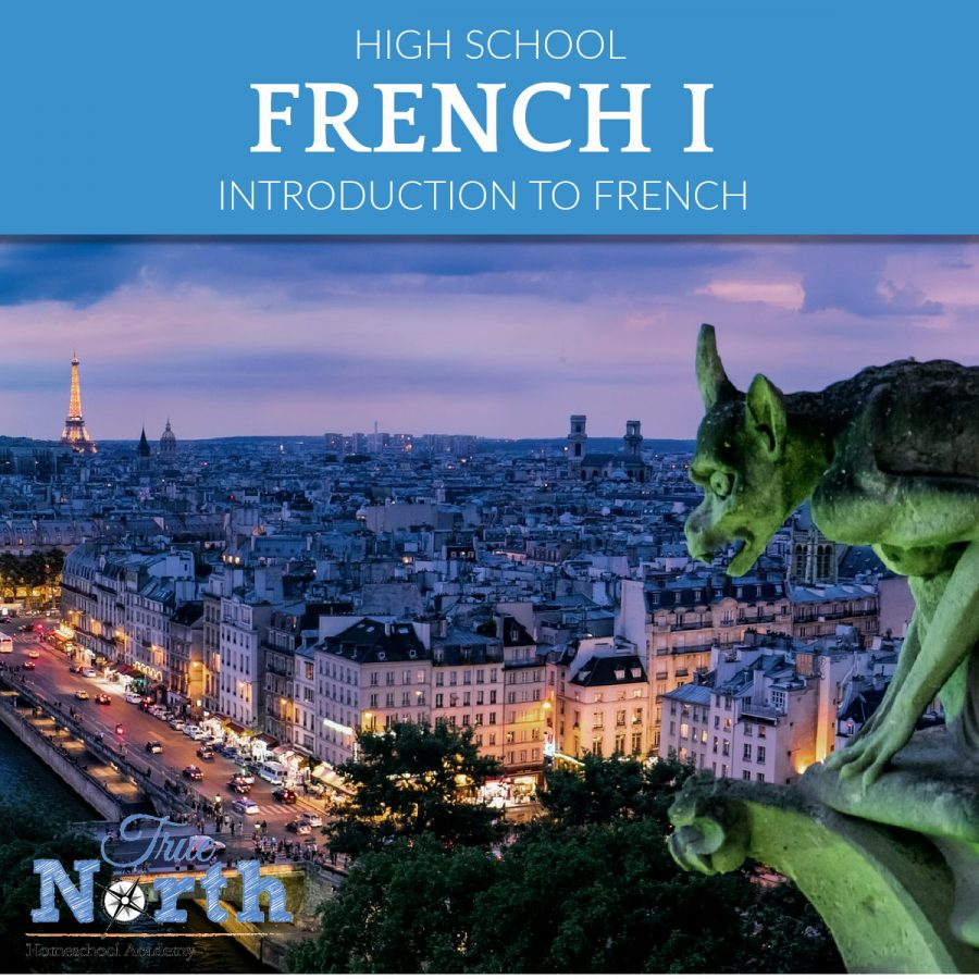 Online live high school French class for homeschoolers