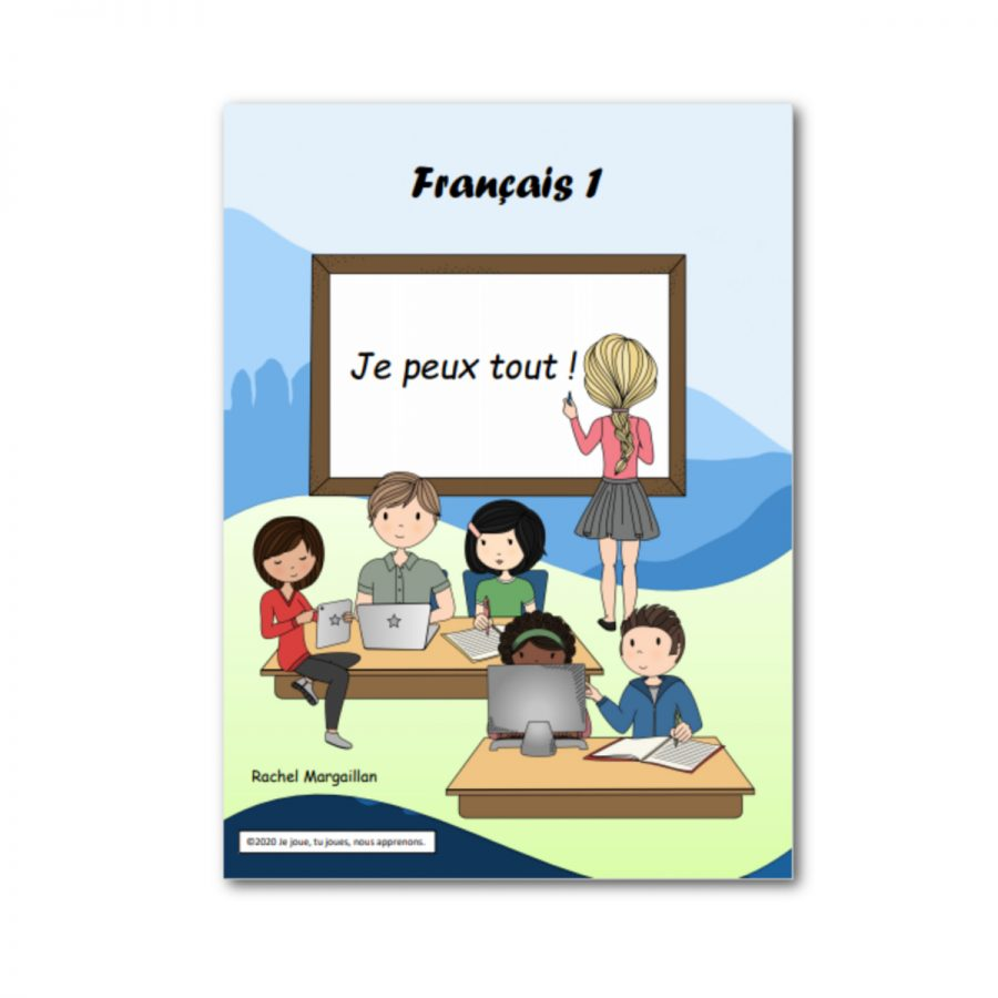 Product image for French level 1 ebook curriculum for online class
