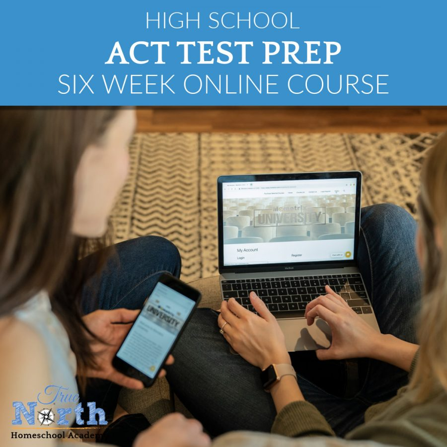 ACT Test Prep is an Essential Tool For Success! Online class will take your student from nervous wreck to confident test buster in 6 weeks. LIVE instruction and all materials included.