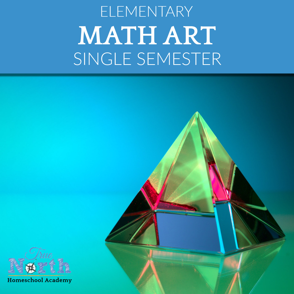 Real-world, hands-on semester Math course. Integrated lessons on tessellations, symmetry, fractals, the Fibonacci sequence & golden ratio.