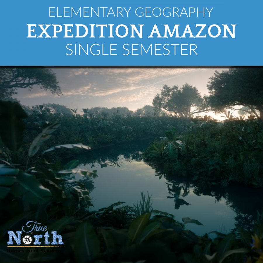 Expedition Amazon - Elementary Geography Class online